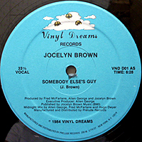 JOCELYN BROWN | SOMEBODY ELSE'S GUY