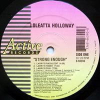 LOLEATTA HOLLOWAY | STRONG ENOUGH