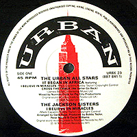 URBAN ALL STARS / JACKSON SISTERS / MACEO & THE TRACKS | IT BEGAN IN AFRICA / I BELIEVE IN MIRACLES / CROSS THE TRACK / WHEN YOUR LOVE IS GONE