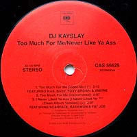 DJ Kay Slay - Too Much For Me
