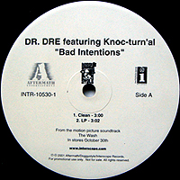 DR. DRE | BAD INTENTIONS