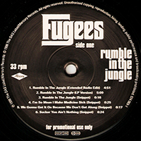 FUGEES | RUMBLE IN THE JUNGLE
