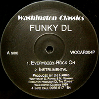 FUNKY DL | EVERYBODY ROCK ON / GREEN LIGHTS