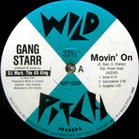 GANG STARR | MOVIN' ON
