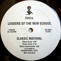 LEADERS OF THE NEW SCHOOL | CLASSIC MATERIAL