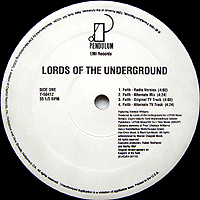 LORDS OF THE UNDERGROUND | FAITH