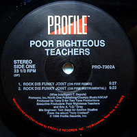 POOR RIGHTEOUS TEACHERS | ROCK DIS FUNKY JOINT