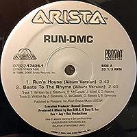 RUN DMC | RUN'S HOUSE / BEATS TO THE RHYME