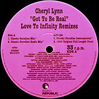 CHERYL LYNN | GOT TO BE REAL REMIXES