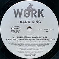 DIANA KING | L-L-LIES