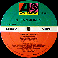GLENN JONES | GOOD THANG