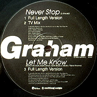JAKI GRAHAM | NEVER STOP / THE LOOK OF LOVE