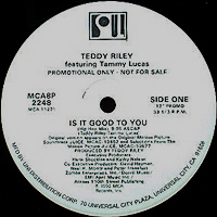 TEDDY RILEY | IS IT GOOD TO YOU
